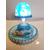 116-au coeur des arts-Veilleuse lampe lumineuse sur socle en bois bebe fille