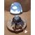 113-au coeur des arts-Veilleuse lampe lumineuse sur socle en bois bebe fille