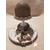 113B-au coeur des arts-Veilleuse lampe lumineuse sur socle en bois bebe fille