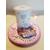 117B-au coeur des arts-Veilleuse lampe lumineuse sur socle en bois bebe fille