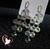 78B-au coeur des arts-boucles doreille grappe de cristal plaqué or