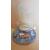 1-au coeur des arts-Veilleuse lampe 3D sur socle en bois reine des neiges