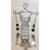 11-boucles spitale perles cristal  monture argent N°6
