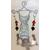 14-dormeuse perles de cristal et  hiboux monture argent 8 G L 7 cm N°7 logo