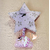 HE1B-Horloge Étoile bébé fille - au cœur des arts