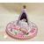 VPA1B-au coeur des arts-Veilleuse petit ange sur socle en bois bebe fille