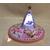 VPA1-au coeur des arts-Veilleuse petit ange sur socle en bois bebe fille