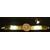 M14-Montre couleur or cristal swarovski - au coeur des arts
