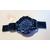 M13B-Montre couleur bleue cristal swarovski - au coeur des arts