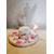 B-au coeur des arts-Veilleuse fée clochette led sur socle en bois bebe fille
