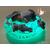 VG137B-au coeur des arts-Veilleuse galet lumineux bebe garcon