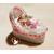 CD25B-au-coeur-des-arts-couffin boîte à dragées bebe fille fee clochette rose fimo