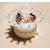 CD17B-au-coeur-des-arts-couronne boîte à dragées bebe fille fimo