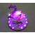 V129-au coeur des arts-bébé fimo sirène et sa veilleuse flamant rose
