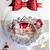 CTS2B-au coeur des arts-Centre de table de Noël Sapin lumineux boule de Noël à led sur socle en bois bebe garçon