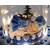 CL2B- au coeur des arts- Cloche lumineuse de  Noël  sur socle à Led