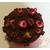 Boîte à gâteaux chocolat et fushia- au coeur des arts 2