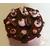 Boîte à gâteaux chocolat et rose - au coeur des arts 2