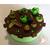 Boîte à gâteaux chocolat pistache - au coeur des arts