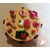Boîte à gâteaux fushia et vanille- au coeur des arts 2