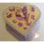 Boîte de naissance violette et vanille - au coeur des arts