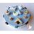 20-Boîte à gâteaux bleue et blanche macarons- au coeur des arts