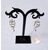 26B-Boucles oreille tourbillon- au coeur des arts