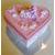 32-Boîte de naissance rose et blanche - au coeur des arts