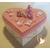 32C-Boîte de naissance rose et blanche - au coeur des arts
