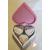 32D-Boîte de naissance rose et blanche - au coeur des arts