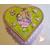 31C-Boîte de naissance verte et rose - au coeur des arts
