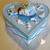 34-Boîte de naissance bleue ciel et blancle - au coeur des arts