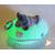23C-Veilleuse galet lumineux bébé fille marine- au coeur des arts