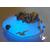 24B-Veilleuse galet lumineux bébé garçon marin- au coeur des arts