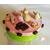 24B-Boîte à gateaux oudosette pistache et rose macaron religieuse-au coeur des arts