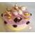 28-Boîte à gâteaux ou dosettes rose vanille - au coeur des arts