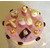 28B-Boîte à gâteaux ou dosettes rose vanille - au coeur des arts