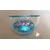 25B-Veilleuse Sirène dans sa bulle rose et bleue - au coeur des arts
