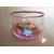 26B-Veilleuse Sirène dans sa bulle rose et verte - au coeur des arts