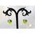 47b-Boucles doreille coeur argent- au coeur des arts