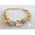44-Bracelet plaqué or rose tête de panthère- au coeur des arts