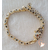 45-Bracelet plaqué or panthère- au coeur des arts