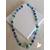 51-Collier Emeraude bleu vert- au coeur des arts