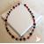 53-Collier Stendhal rouge et noir - au coeur des arts