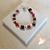 52-Bracelet Stendhal rouge et noir- au coeur des arts