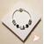 60-Bracelet Safary zébré argent- au coeur des arts