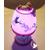 37C-Lampe Veilleuse lumineuse bébé fille rose - au coeur des arts