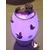 36B-Lampe Veilleuse lumineuse bébé fille parme- au coeur des arts