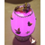 36C-Lampe Veilleuse lumineuse bébé fille parme- au coeur des arts