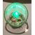 33B-Veilleuse Sirène dans sa bulle verte et rose - au coeur des arts
